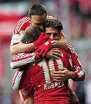 Fussball Bundesliga 2010/11, 22. Spieltag: FC Bayern Muenchen - TSG 1899 Hoffenheim