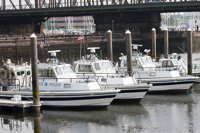 Massachusetts State Police Marine Section patrol and rapid response boats