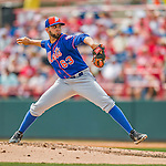 3 March 2016: New York Mets pitcher Gabriel Ynoa on the mound during a Spring Training pre-season game against the Washington Nationals at Space Coast Stadium in Viera, Florida. The Mets fell to the Nationals 9-4 in Grapefruit League play. Mandatory Credit: Ed Wolfstein Photo *** RAW (NEF) Image File Available ***