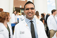 Trishul Kapoor. Class of 2017 White Coat Ceremony.