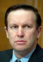 United States Senator Chris Murphy (Democrat of Connecticut) during the confirmation hearing for R. Alexander Acosta, Dean of Florida International University College of Law and US President Donald J. Trump's nominee for US Secretary of Labor, on Capitol Hill in Washington, DC on Wednesday, March 22, 2017.<br /> Credit: Ron Sachs / CNP /MediaPunch