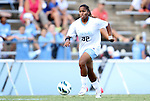 26 August 2012: UNC's Meg Morris. The University of North Carolina Tar Heels defeated the University of Montreal Caribins 1-0 in overtime at Fetzer Field in Chapel Hill, North Carolina in an international women's collegiate friendly game.