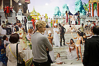55th Art Biennale in Venice - The Encyclopedic Palace (Il Palazzo Enciclopedico).<br /> Giardini. Venice Pavilion.<br /> AES+F (Russia). &quot;The Feast of Trimalchio, Arrival of the Golden Boat&quot;.