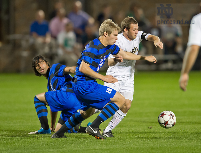 Sept. 27, 2013; Men's Soccer vs Duke, Harrison Shipp (10). <br /> <br /> Photo by Matt Cashore/University of Notre Dame