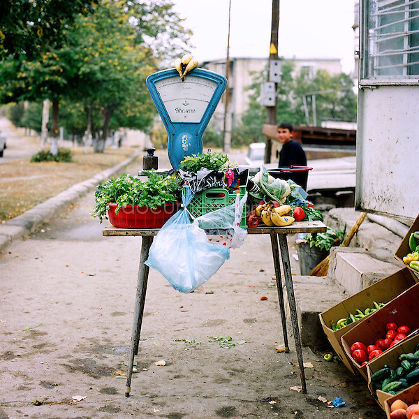 small market in Chouchi, Nagorno Karabakh