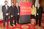 Wells Fargo VIP's at the Manhattan Chamber of Commerce Annual 2011 Economic Outlook Breakfast. The breakfast was held at the New York Athletic Club on April 4, 2011 and sponsored by Wells Fargo.