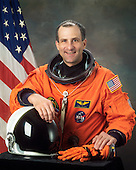 Houston, TX - (FILE) -- Astronaut Donald R. Pettit, mission specialist, STS-126 dated August 21, 2002. Pettit is scheduled for launch aboard Space Shuttle Endeavour on Friday, November 14, 2008.  The 15-day flight will deliver equipment and supplies to the space station in preparation for expansion from a three- to six-person resident crew aboard the complex. The mission will include four spacewalks to service the station?s Solar Alpha Rotary Joints..Credit: NASA via CNP