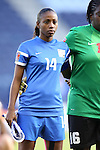 16 October 2014: Catherine Noel (MTQ). The Jamaica Women's National Team played the Martinique Women's National Team at Sporting Park in Kansas City, Kansas in a 2014 CONCACAF Women's Championship Group B game, which serves as a qualifying tournament for the 2015 FIFA Women's World Cup in Canada. Jamaica won the game 6-0.