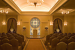 Nevada, NV, Las Vegas, city, wedding chapel, Tuscano, Caesars Palace Hotel and Casino, altar, stained glass, Photo nv269-17071. .Copyright: Lee Foster, www.fostertravel.com, 510-549-2202,lee@fostertravel.com