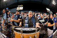 Fans. Sporting Kansas City won the Lamar Hunt U.S. Open Cup on penalty kicks after tying the Seattle Sounders in overtime at Livestrong Sporting Park in Kansas City, Kansas.