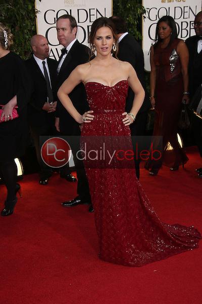Jennifer Garner<br /> at the 70th Annual Golden Globe Awards Arrivals, Beverly Hilton Hotel, Beverly Hills, CA 01-13-13<br /> David Edwards/DailyCeleb.com 818-249-4998