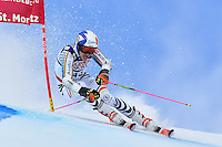 February 17, 2017: Linus STRASSER (GER) competing in the men's giant slalom event at the FIS Alpine World Ski Championships at St Moritz, Switzerland. Photo Sydney Low