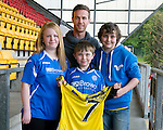 St Johnstone Players Sponsors Night, McDiarmid Park...09.05.12.Chris Millar;.Picture by Graeme Hart..Copyright Perthshire Picture Agency.Tel: 01738 623350  Mobile: 07990 594431