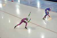 SCHAATSEN: GRONINGEN: Sportcentrum Kardinge, 17-01-2015, KPN NK Sprint, Lieuwe Mulder, Lucas van Alphen, ©foto Martin de Jong