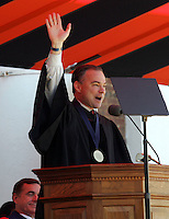 Virginia Governor Tim Kaine addresses the 2006 graduating class Sunday May 21, 2006 at the University of Virginia in Charlottesville, Va.