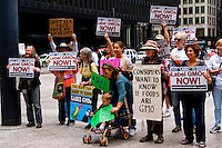 Rally Against Monsanto, GMO Foods, and the DARK Act Chicago, Illinois 8-27-15