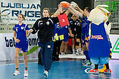 Jelena Grubisic of Krim during handball match between RK Krim Mercator and Gyori Audi ETO KC (HUN) in 3rd Round of Group B of EHF Women's Champions League 2012/13 on October 28, 2012 in Arena Stozice, Ljubljana, Slovenia. (Photo By Vid Ponikvar / Sportida)