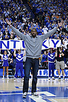 John Wall was the Y of the Kentucky cheer on Tuesday, February 8, 2011.  Photo by Latara Appleby | Staff