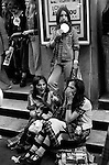 BAY CITY ROLLERS FANS LONDON  1970S BRITAIN