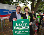 Larry Sanders stands for MP  in Witney as David Cameron stands down
