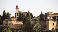 The Alhambra, Granada, Andalusia, Spain. Picture by Manuel Cohen