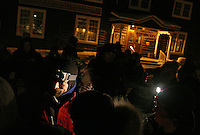 Yukon Quest 2007 at Dawson City,<br /> <br /> Lance Mackey arrives first to Dawson, the halfway point of the race