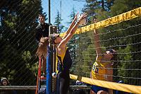 Cal Beach Volleyball vs San Jose State, April 8, 2017