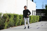 San Jose, CA - Wednesday May 17, 2017: Jahmir Hyka prior to a Major League Soccer (MLS) match between the San Jose Earthquakes and Orlando City SC at Avaya Stadium.