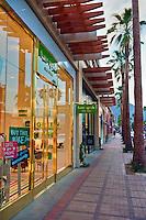 Palm Desert; El Paseo Drive, Boutiques; Mannequins; near Palm Springs; Palm Trees; famous; retailers; fashion; haute couture; shopping; CA; California; Coachella Valley; Desert;