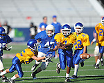 Oxford Middle School vs. Water Valley in 7th grade football action at Vaught-Hemingway Stadium in Oxford, Miss. on Saturday, August 27, 2011.