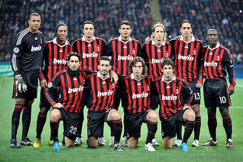 2009 champions league ac milan v real madrid nov 4th
