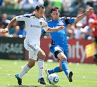 SANTA CLARA, CA--San Jose Earthquakes win over the Los Angeles Galaxy 1-0 at Buck Shaw Stadium.
