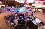 Residents enjoying the Seminole Grand Apartments in Tallahassee, Florida November 18, 2009.