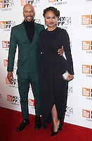 "NEW YORK, NY-September 30: Common, Ava DuVernay at 54th New York Film Festival - Opening Night Gala Presentation And ""13th"" World Premiere at Alice Tully Hall at Lincoln Center in New York. September 30, 2016. Credit:RW/MediaPunch"
