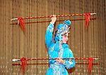 Asia, China, Beijing. Beijing Opera Performer