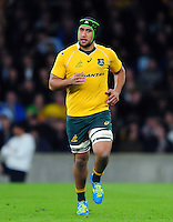 Leroy Houston of Australia. The Rugby Championship match between Argentina and Australia on October 8, 2016 at Twickenham Stadium in London, England. Photo by: Patrick Khachfe / Onside Images