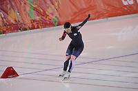 OLYMPICS: SOCHI: Adler Arena, 11-02-2014, 500m Ladies, Sang-Hwa Lee (KOR), ©foto Martin de Jong