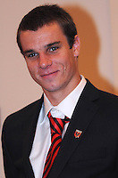 DC United midfielde rConor Shanosky, at the 2011 Season Kick off Luncheon, at the Marriott Hotel in Washington DC, Wednesday March 16 2011.