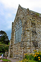 A view of an old Irish church