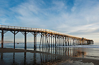 Pier at Hearst Memorial State Beach, San Simeon, California