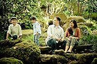 Carlos Family Portraits | San Francisco Botanical Garden Golden Gate Park