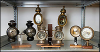 BNPS.co.uk (01202 558833)<br /> Pic: TomWren/BNPS<br /> <br /> This is the 'Lady with the Lamp' whose impressive collection of 400 historic lamps has emerged for auction and is tipped to sell for &pound;10,000.<br /> <br /> Pamela Barnes and her husband Kenneth have amassed a remarkable haul of 19th and 20th century railway, naval and mining lamps.<br /> <br /> It all started 50 years ago when Mr Barnes, 90, gave up smoking and decided he needed another 'bad habit'. <br /> <br /> The couple picked up the lamps at second hand shops and would take them in their caravan to rallies across the south of England.