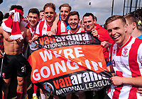 Lincoln City's Josh Ginnelly, Sean Long, Callum Howe, Ross Etheridge and Jonny Margetts<br /> <br /> Photographer Andrew Vaughan/CameraSport<br /> <br /> Vanarama National League - Lincoln City v Macclesfield Town - Saturday 22nd April 2017 - Sincil Bank - Lincoln<br /> <br /> World Copyright &copy; 2017 CameraSport. All rights reserved. 43 Linden Ave. Countesthorpe. Leicester. England. LE8 5PG - Tel: +44 (0) 116 277 4147 - admin@camerasport.com - www.camerasport.com