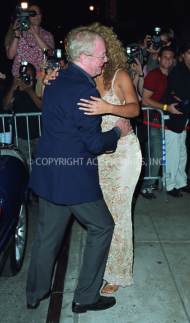 "Michael Caine greets Beyonce Knowles as she arrives at the New York Premiere of ""Austin Powers in Goldmember"" at Barney's New York on Madison Avenue in New York. July 24, 2002. Please byline: Alecsey Boldeskul/NY Photo Press.   ..*PAY-PER-USE*      ....NY Photo Press:  ..phone (646) 267-6913;   ..e-mail: info@nyphotopress.com"