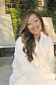 Stock photo of asian woman at spa