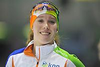 SCHAATSEN: HEERENVEEN: 27-12-2013, IJsstadion Thialf, KNSB Kwalificatie Toernooi (KKT), 3000m, Antoinette de Jong, ©foto Martin de Jong