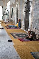 Tripoli, Libya - Men Praying, Using Prayer Beads, Karamanli Mosque, Tripoli Medina