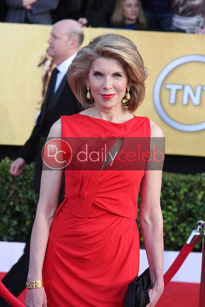 LOS ANGELES - JAN 30:  Christine Baranski arrives at the 2011 Screen Actors Guild Awards  at Shrine Auditorium on January 30, 2011 in Los Angeles, CA