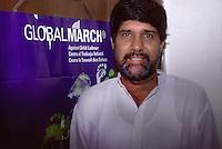 ritratto di Kailash Satyarthi Nobel per la pace 2014  (qui a inizi anni 2000)