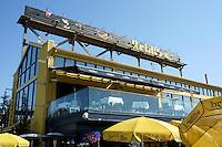 Bridges restaurant on Granville Island, Vancouver, BC, Canada
